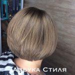 Мелирования на короткие волосы